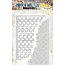 Studio Light plantilla de corte y estampado: Industrial