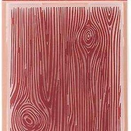 Crafter's Companion Cartella goffrata, legno naturale, 17,5 x 12,5 cm