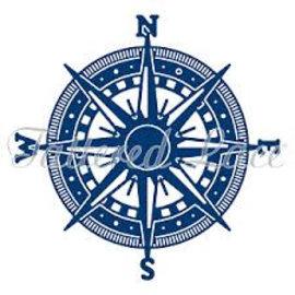 Tattered Lace Ponksjabloon: kompas