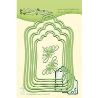 cutting and embossing template: Labels large