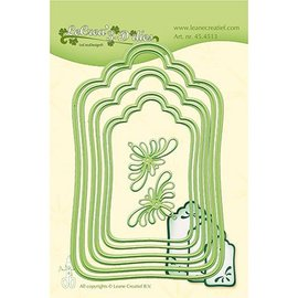 Leane Creatief - Lea'bilities und By Lene cutting and embossing template: Labels large