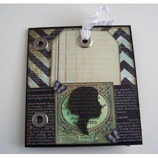 Stempel / Stamp: Transparent sello transparente, Silueta