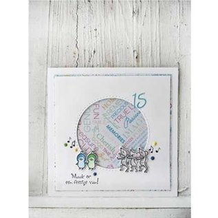 Marianne Design cutting and Embossing template: 4 Basic: Passe partouts/Circles