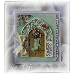 Marianne Design Ponsen en embossingmal Creatables, vintage deur