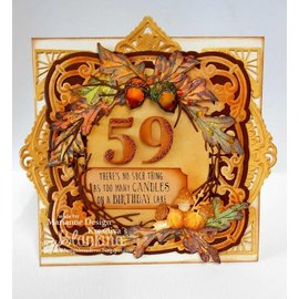 Marianne Design cutting and embossing template: Elegant Numbers