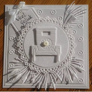 Marianne Design Stampen en Embossing stencil, Creatables - T-Ford