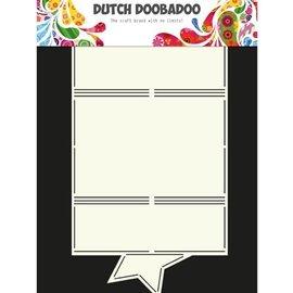 Dutch DooBaDoo A4 plastik maske: Card Art stjerne