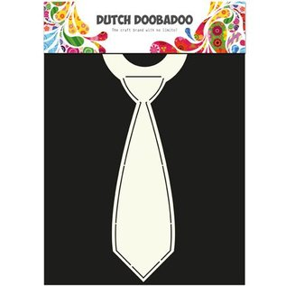 Dutch DooBaDoo A4 Plastic Template: Card Art Tie