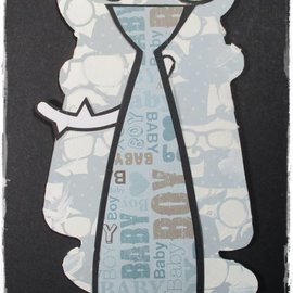 Dutch DooBaDoo A4 máscara de plástico: Tarjeta Lazo del arte