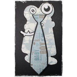Dutch DooBaDoo A4 plastic masker: Card Band van de Kunst