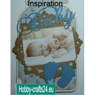 """Nellie Snellen A4 Cutting sheet Vintage """"Baby"""""""