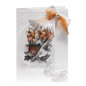 BASTELSETS / CRAFT KITS Bastelset flower card set