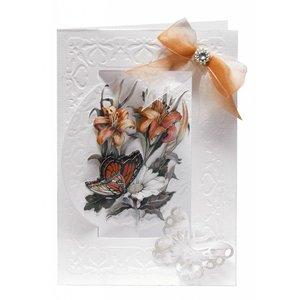 BASTELSETS / CRAFT KITS jeu de cartes Bastelset de fleurs