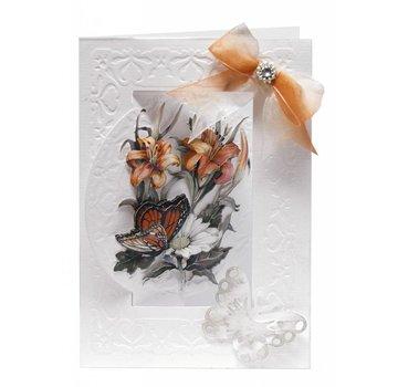 BASTELSETS / CRAFT KITS set di carta fiore Bastelset