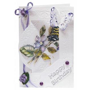 BASTELSETS / CRAFT KITS Bastelset flower card set