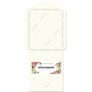 Dutch DooBaDoo A4 plast maske: Korttype, innhylle måten firkant med diamant
