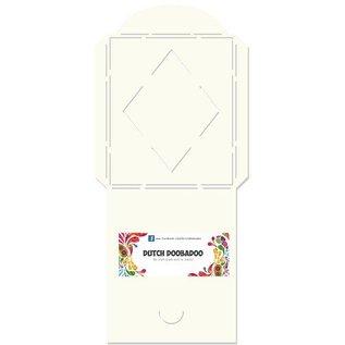 Dutch DooBaDoo A4 plastic masker: Type kaart, Envelop manier plein met diamanten