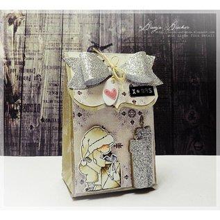 Dutch DooBaDoo A4 Plastik Schablone: Box Art Geschenk Schachtel