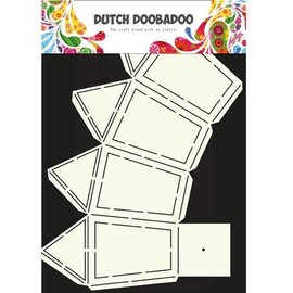 Dutch DooBaDoo A4 plastic masker: Box Art Lantern
