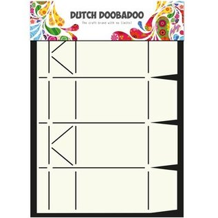 Dutch DooBaDoo A4 Plastik Schablone: Box Art Milk Carton