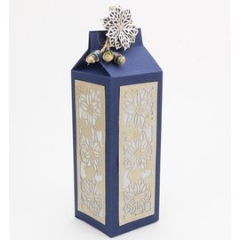 Dutch DooBaDoo A4 masque en plastique: Box Art lait Carton