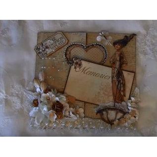 Nellie Snellen Ponsen sjabloon: Magic Card, Heart