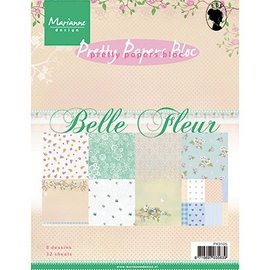 Karten und Scrapbooking Papier, Papier blöcke Designerpapier, A5, Belle Fleur - zurück vorrätig