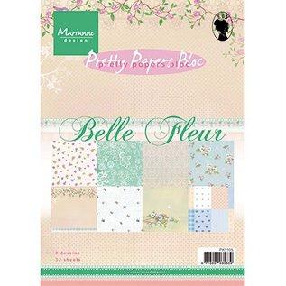 Karten und Scrapbooking Papier, Papier blöcke Designerpapier, A5, Belle Fleur