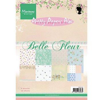 Karten und Scrapbooking Papier, Papier blöcke Designer papir, A5, Bellefleur - tilbage på lager