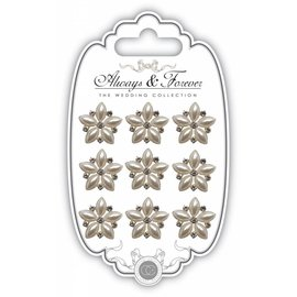 Embellishments / Verzierungen Charm Cluster nave Consorcio estrella de la perla