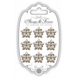Embellishments / Verzierungen Craft Consorzio Pearl Star Charm Cluster