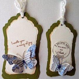 Nellie Snellen corte y relieve de plantillas: marco múltiple, etiqueta