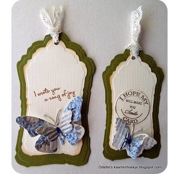 Nellie Snellen cutting and embossing Dies: Multi Frame, Label