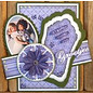 Nellie Snellen cutting and embossing templates: 3D rosette Round to fold
