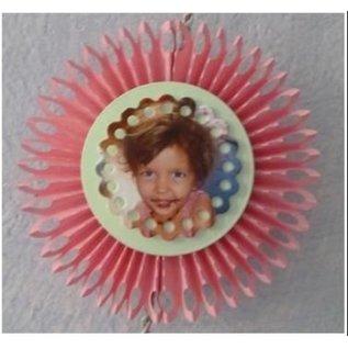 Nellie Snellen modelli di taglio e goffratura: rosone 3D Rotondo a piegare
