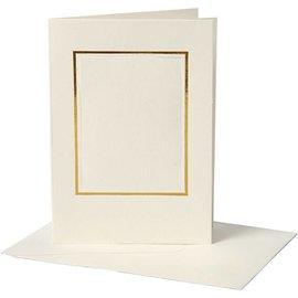 KARTEN und Zubehör / Cards 10 passe-partout Kaarten incl. Enveloppen, 220g.