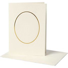 KARTEN und Zubehör / Cards 10 passe-partoutkaarten incl. Enveloppen, 220g.