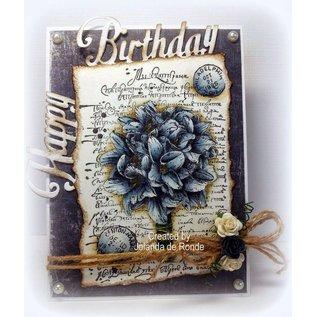 Joy!Crafts / Jeanine´s Art, Hobby Solutions Dies /  Clear / Transparente Stempel, A6, Silhouette Blumenstrauß