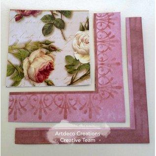 Couture Creations prachtige set papieren, 24 vellen, 12 x 12 inch (zie onze productvideo)