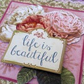 Couture Creations hermoso juego de papeles, 24 hojas, 12 x 12 pulgadas (vea nuestro video del producto)