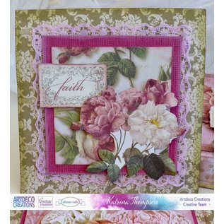 Couture Creations beautiful set of papers, 24 sheets, 12 x 12 inches (See our product video)