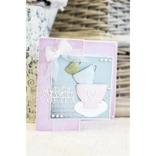 Crafter's Companion Snij en embossing mall: Vintage Teacups