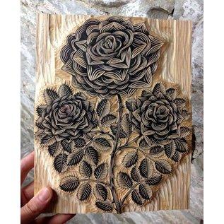 BASTELZUBEHÖR, WERKZEUG UND AUFBEWAHRUNG NEW! 1 SoftCut carving board, size: 300 mm x 200 mm x 3.0 mm thick, to create your own stamp