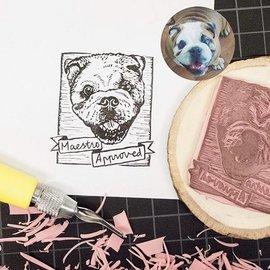 BASTELZUBEHÖR, WERKZEUG UND AUFBEWAHRUNG NUEVO! 1 tabla de tallado SoftCut, tamaño: 300 mm x 200 mm x 3,0 mm de grosor, para crear su propio sello