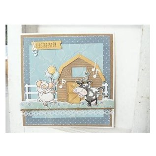 Marianne Design cutting and embossing template: farm fence