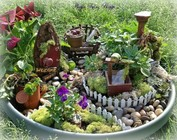 Decoration: Mini garden design