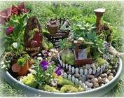 Dekoration: Mini Garten gestalten, Winter Mini Gardening