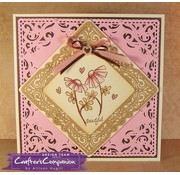 Die'sire Cutting and embossing stencils: Classiques Corner, Classic Flourish