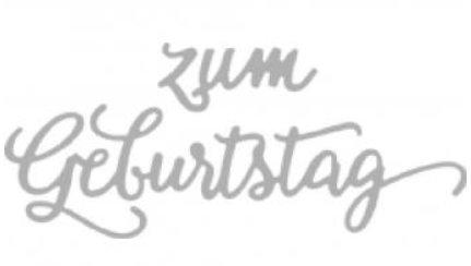 Gratulerer med dagen på tysk