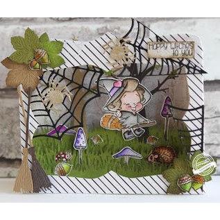 Marianne Design Snijsjabloon / Snijmal: CR1374, Kaart van de Doos
